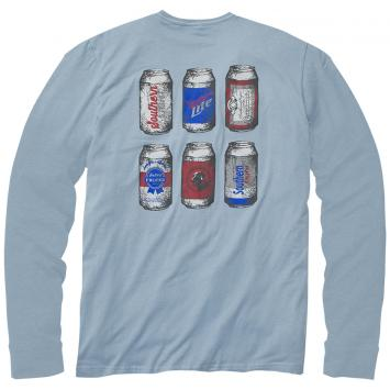 The Six Pack Tee - Long Sleeve
